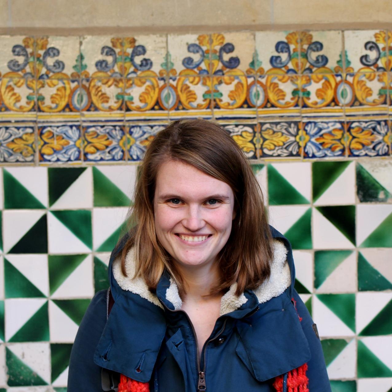 Marijke in Barcelona