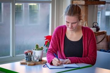 Marijke schrijft
